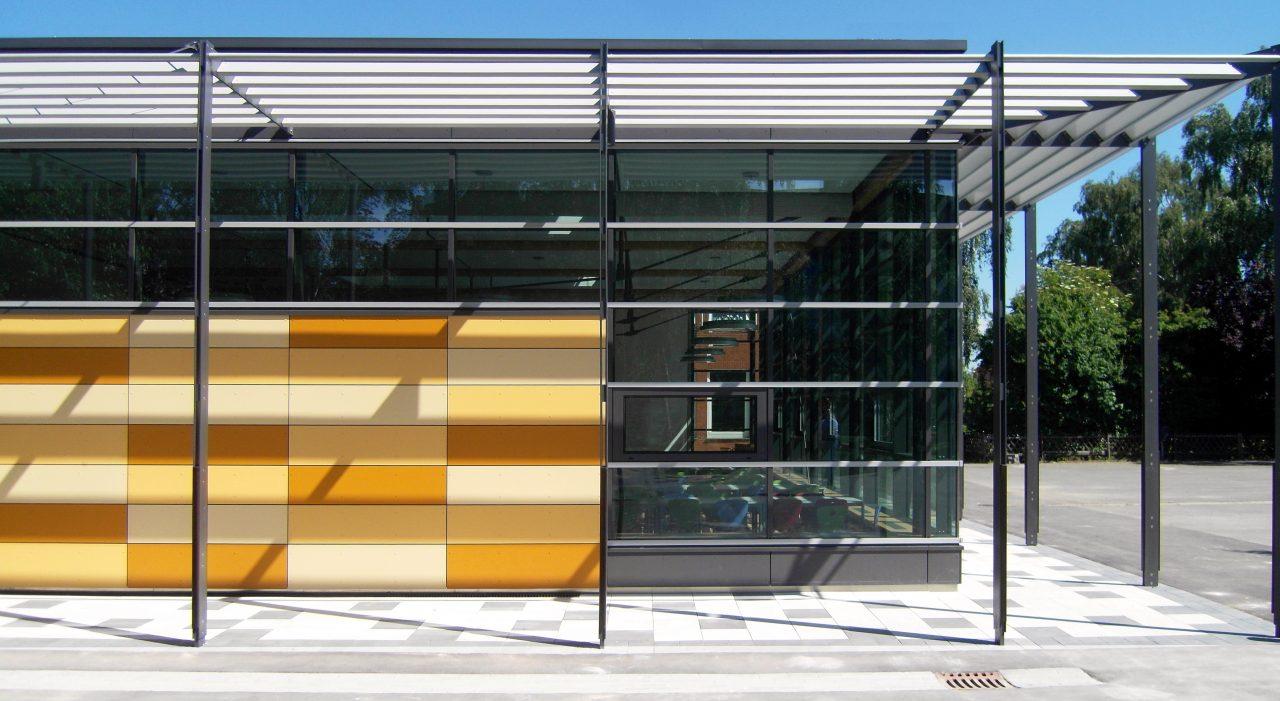 grundschule am sonnenbrink stadthagen neubau mensa stricker architekten. Black Bedroom Furniture Sets. Home Design Ideas